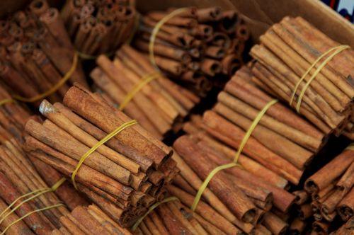 Bundles Of Cinnamon Sticks