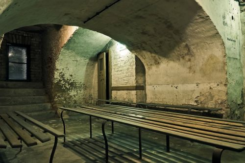 bunker air-raid shelter world war