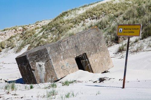 bunker  denmark  north sea