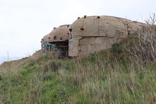 bunker  collioure  world war 2