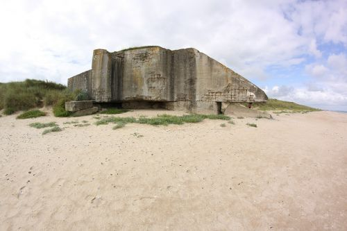 bunker beach france