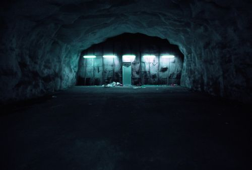 bunker dark basement