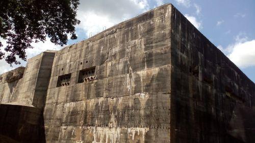 bunker defensive work blockhaus