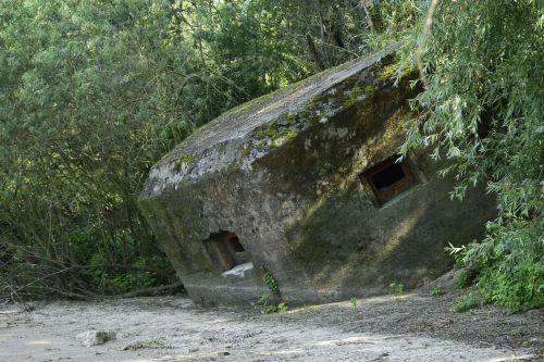 bunker beach verdedigingslienie