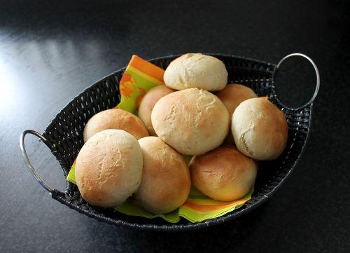 buns freshly baked bread