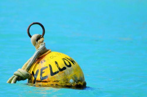buoy boat sea