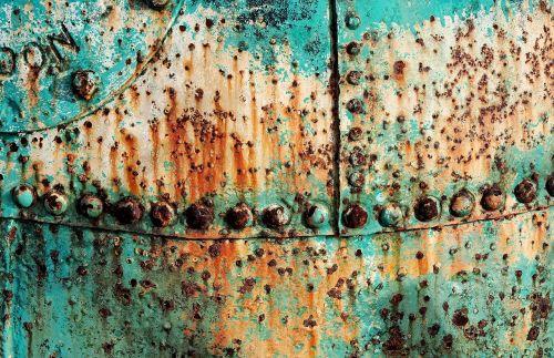 buoy corroded rusty