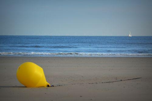 buoy beach sea