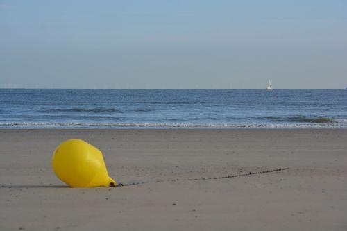 buoy sea beach