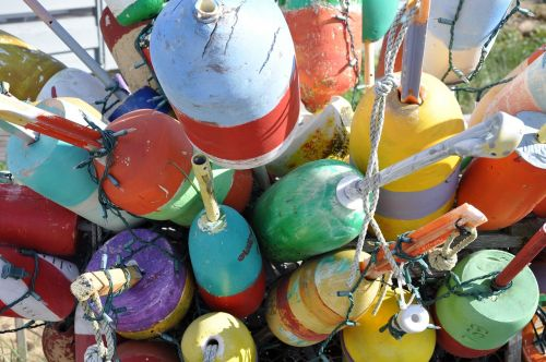 buoys boat nautical