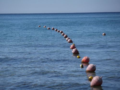 buoys sea water