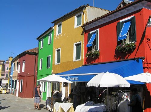 burano italy architecture