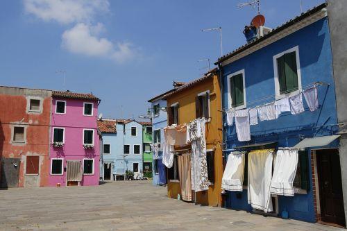 burano italy houses