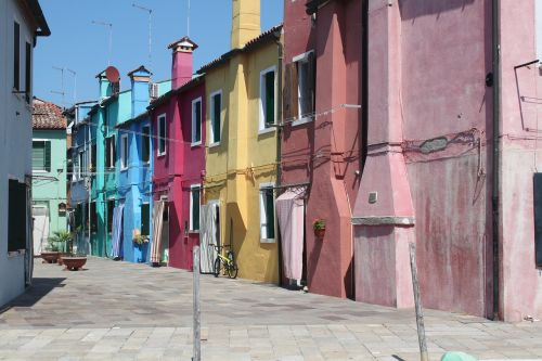 burano venice colors