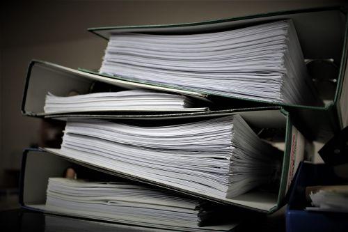 bureaucracy aktenordner paperwork
