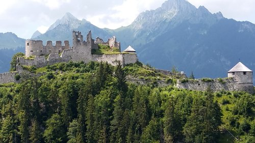 burg ehrenberg  ruin  castle