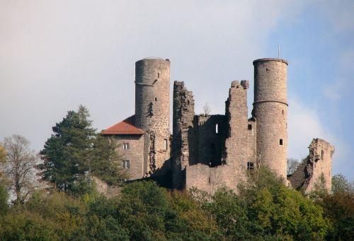 burg hanstein castle fortress