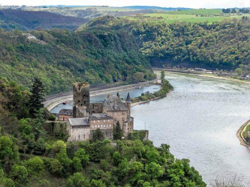 burg katz castle rhine