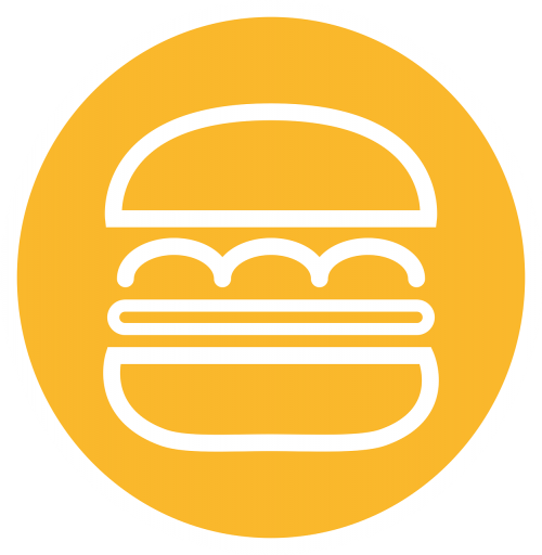 burger restaurant piktogram