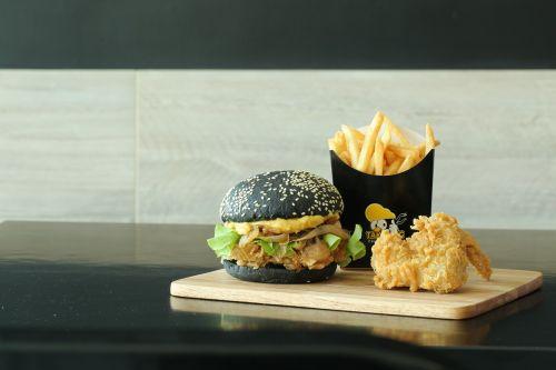 burger fastfood chicken