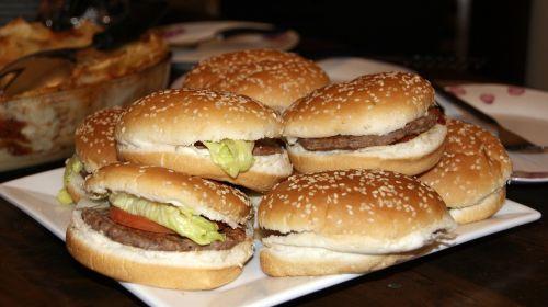 burger chicken dish