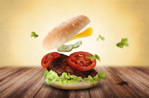 burger hamburger eat