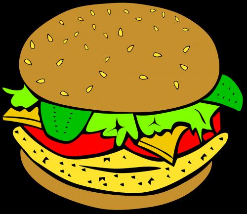burger sandwich meal