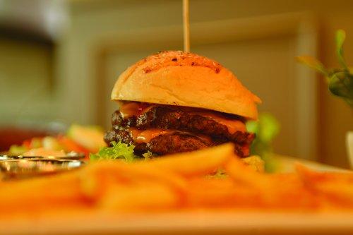 burger  food  eat
