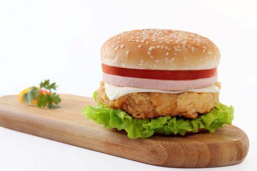 burger food junk