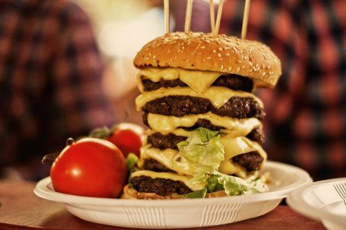 burger food meat