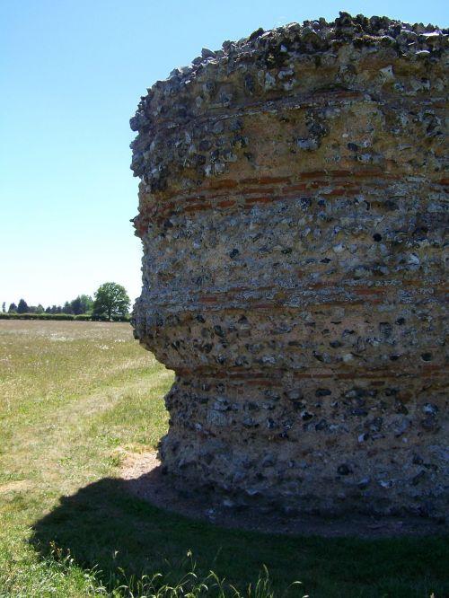 burgh castle norfolk famous place