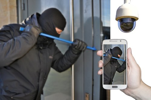burglar  burglary  surveillance camera