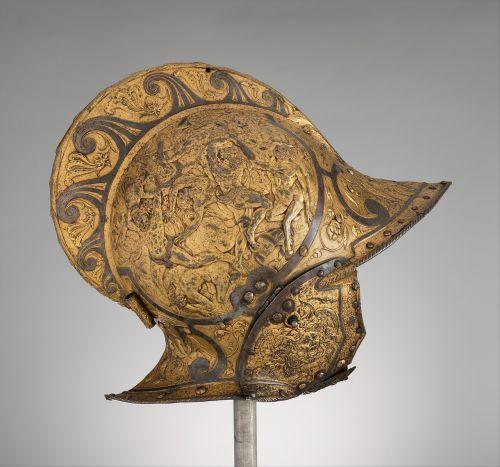 burgonet helmet medieval