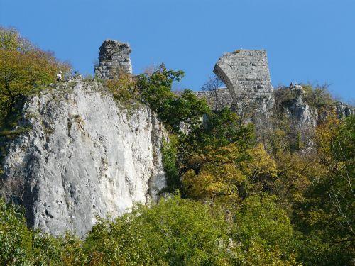 burgruine ruin hohengerhausen ruin