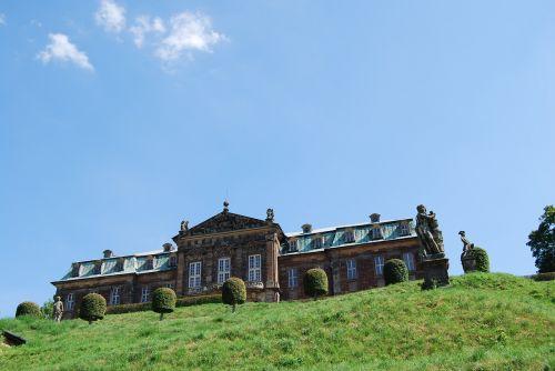 burgscheidungen castle barockschloss schlossgarten