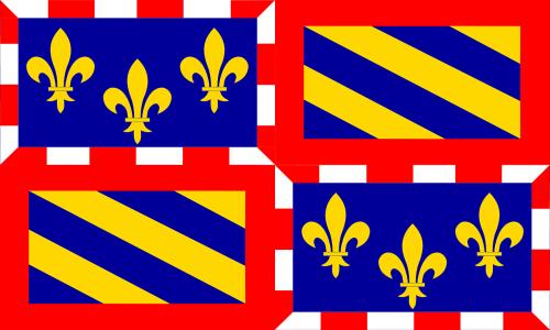 burgundy flag region