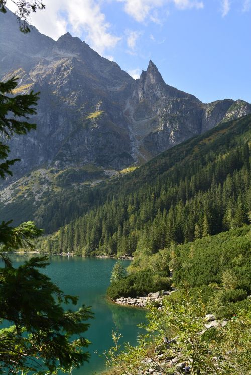 buried mountains landscape