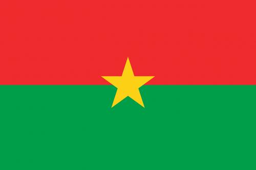 burkina faso flag national flag