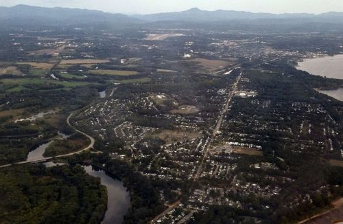 Burlington, Vermont From The Air