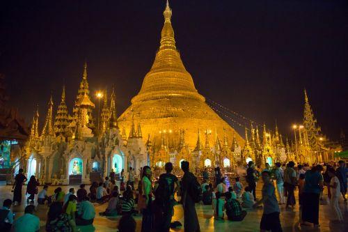 burma yangoun temple
