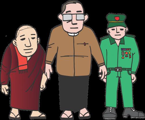 burma president monk