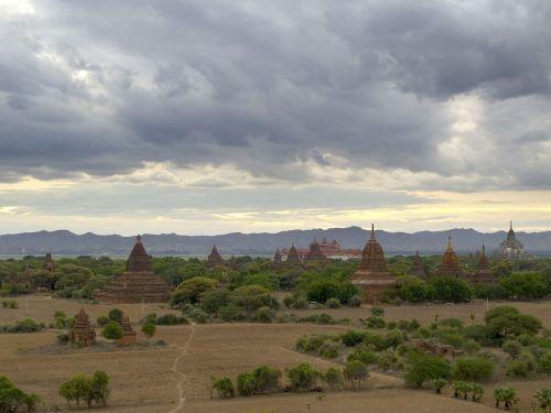 burma bagan temples