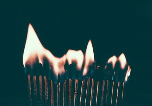 burn fire flame