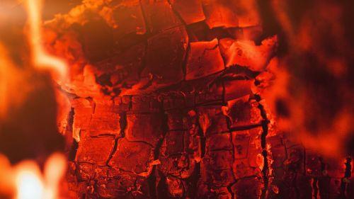 burning wood light wood