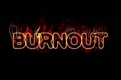 burnout font fire