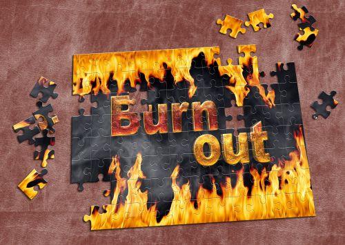 burnout stress font
