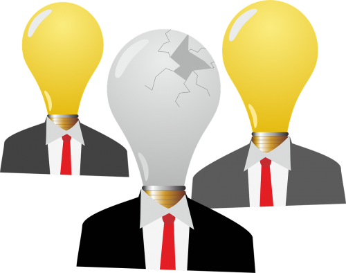 burnout light bulbs idea