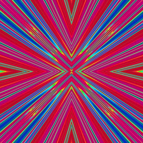burst radiate glow