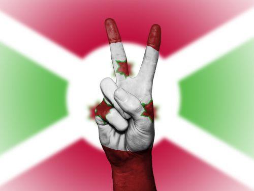 burundi flag peace