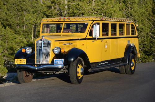 bus yellowstone jammer